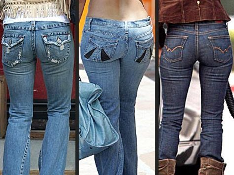 "girlfriends or wives, ""Honey, do these jeans make my butt look too big?"""